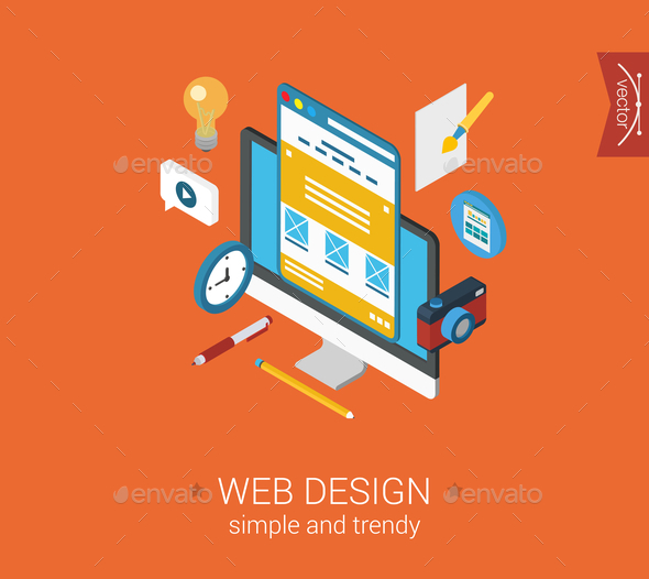 Web Design Concept - Web Technology