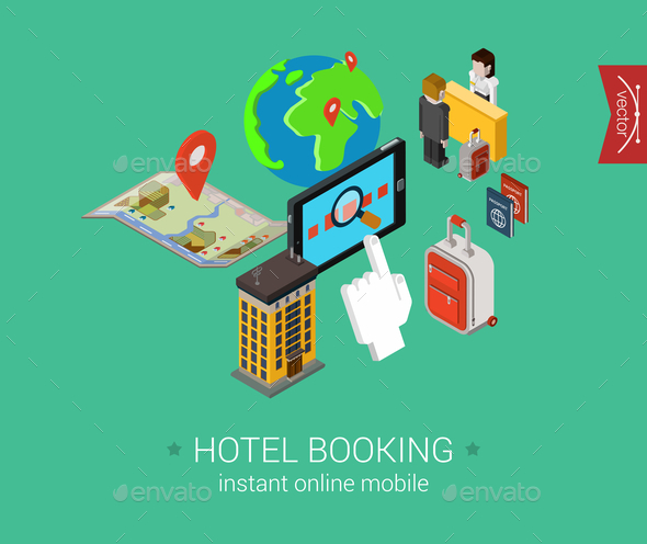 Hotel Booking Concept - Concepts Business