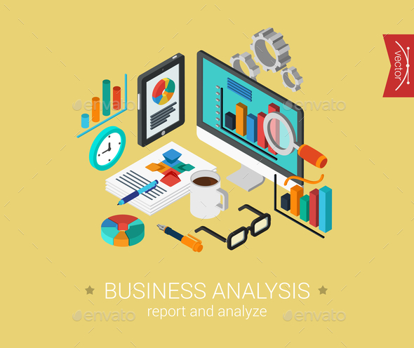 Business Analysis Concept - Web Technology