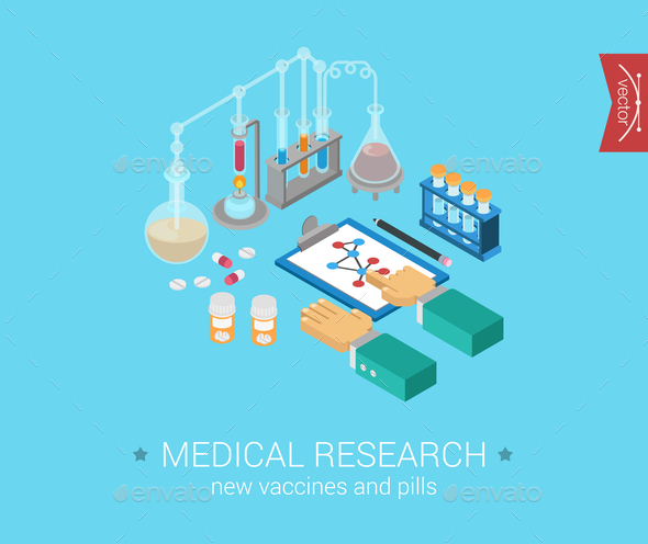 Medical Research Concept - Web Technology