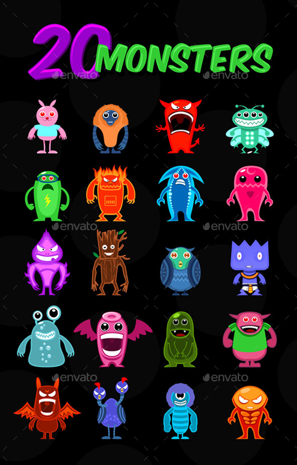 Monsters - Monsters Characters