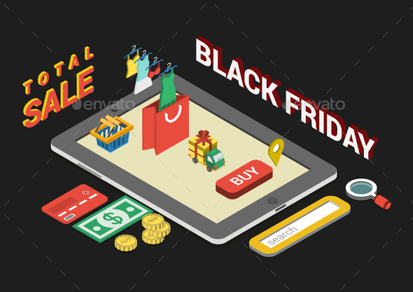 Black Friday Concept - Concepts Business