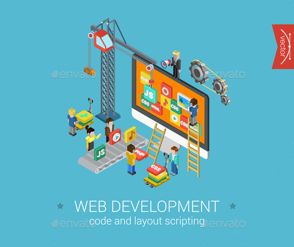 Web Development Concept - Web Technology
