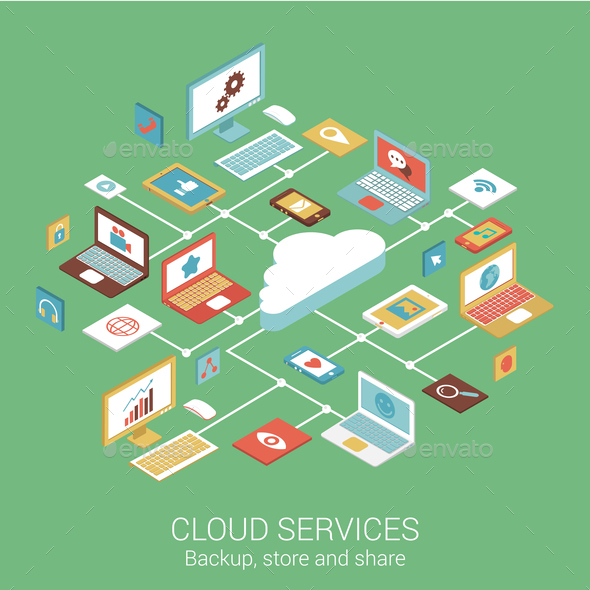 Cloud Services Concept - Web Technology