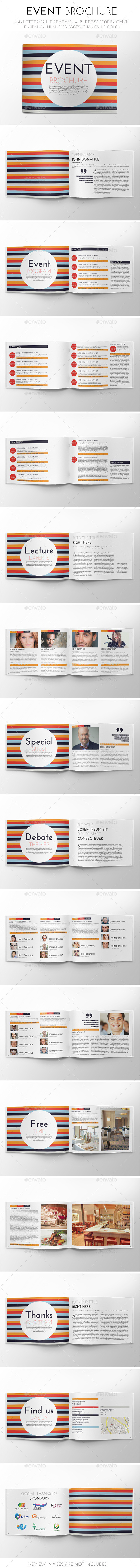 Event Brochure Template - Brochures Print Templates
