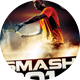 Smash Tennis Sport Flyer - GraphicRiver Item for Sale