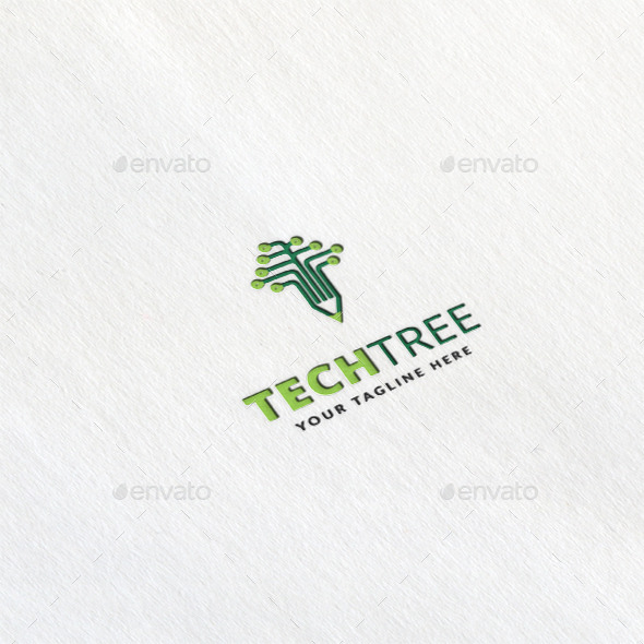 Tech Tree Logo Template