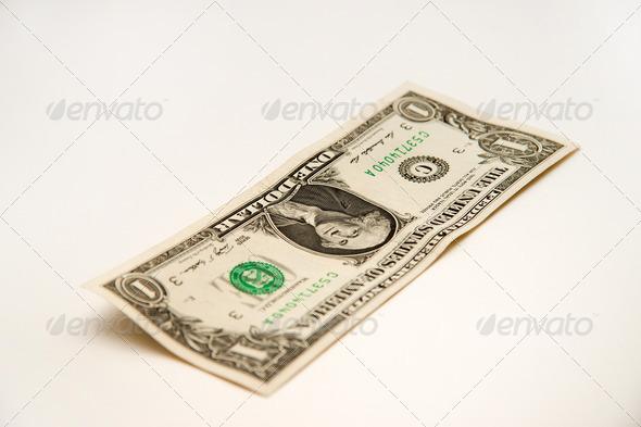 One dollar - Stock Photo - Images