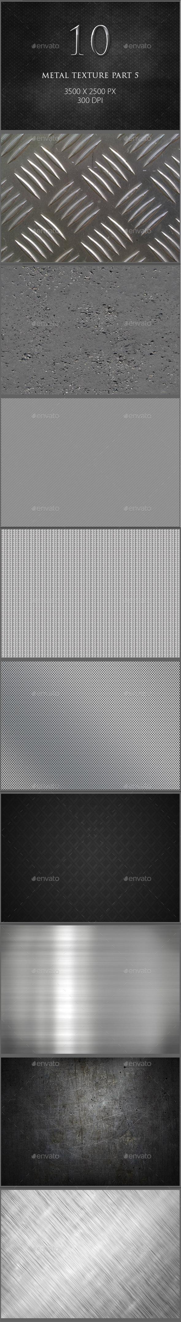 10 Metal Texture Part 5 - Metal Textures