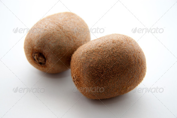 Two kiwi - Stock Photo - Images