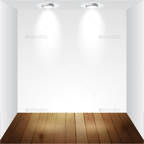 Empty White Room - Backgrounds Business