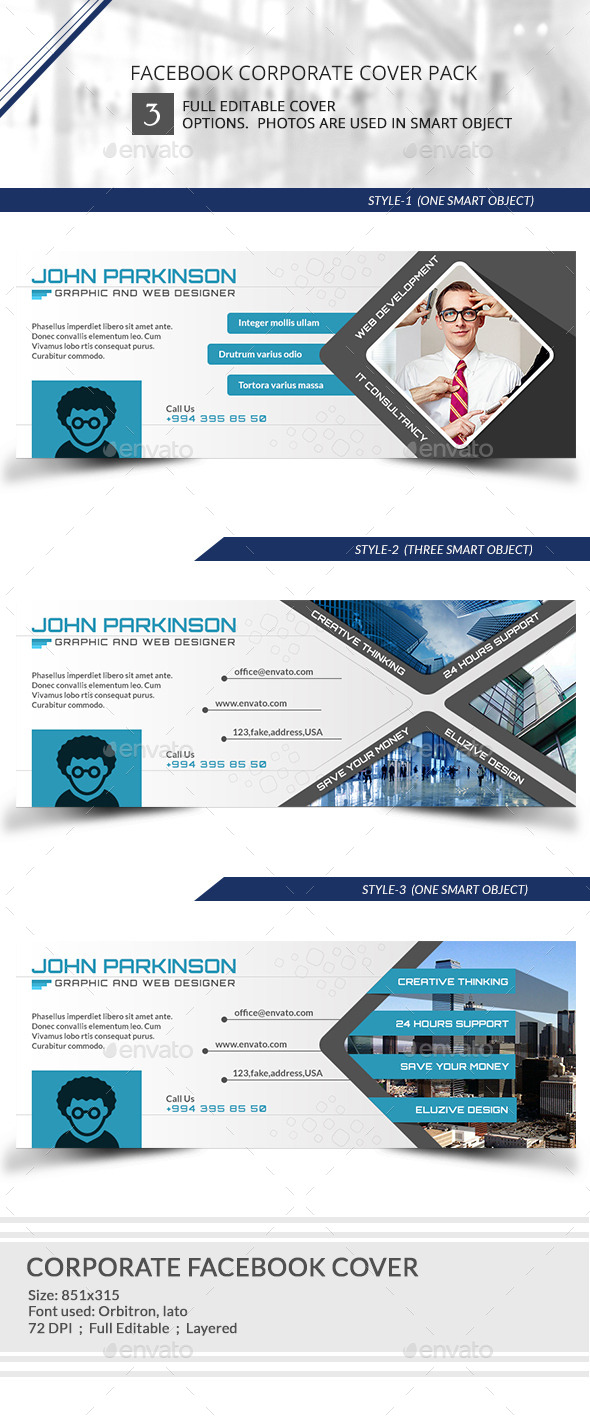 Corporate Facebook timeline Cover - Facebook Timeline Covers Social Media