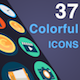 Colorful Animated Icons - VideoHive Item for Sale