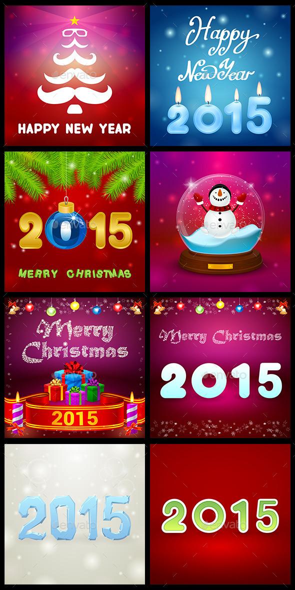Christmas Set - Seasons/Holidays Conceptual