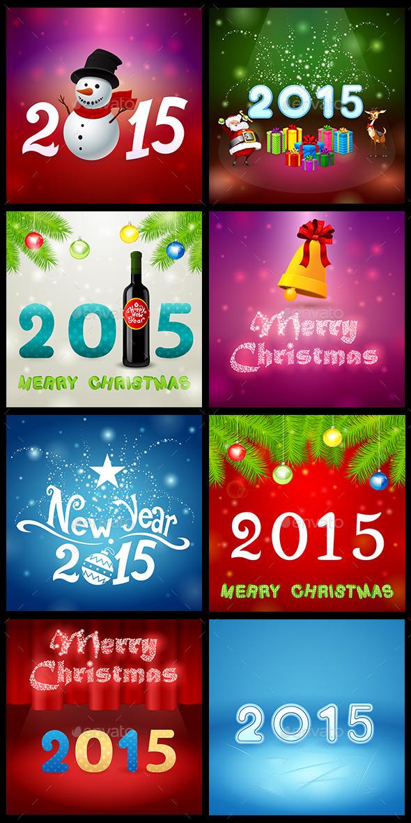 Christmas Set 4 - Seasons/Holidays Conceptual