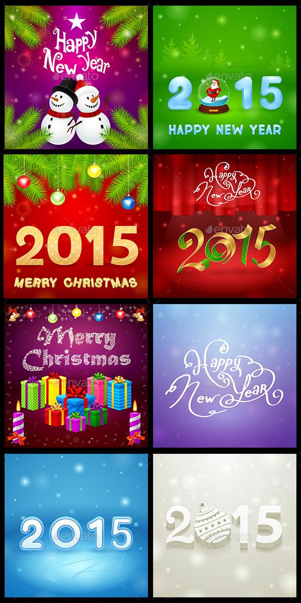 Christmas Set 5 - Seasons/Holidays Conceptual