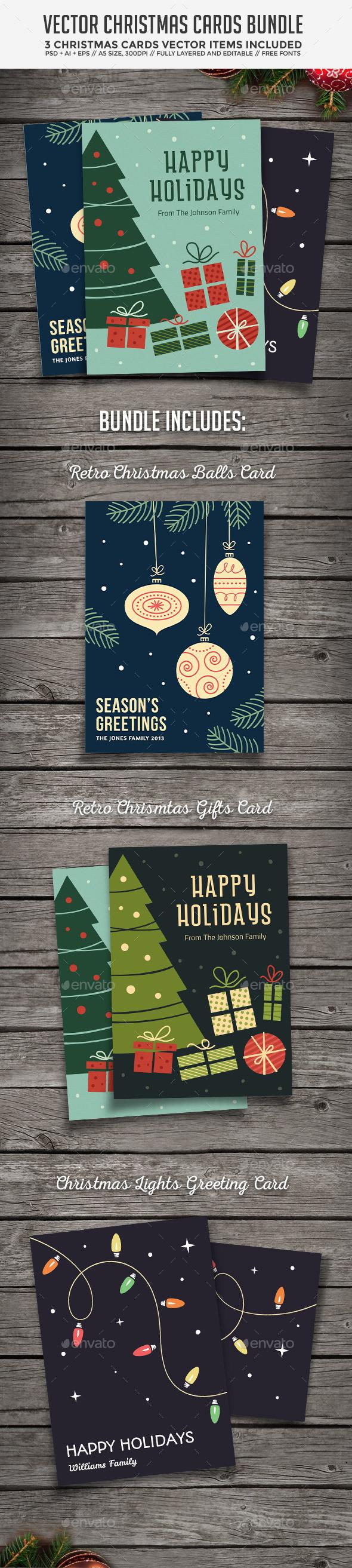 Christmas Cards Bundle - Christmas Seasons/Holidays