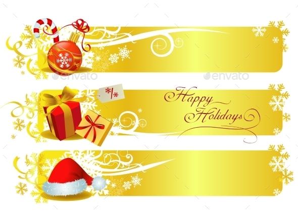Classic Christmas Banners  - Christmas Seasons/Holidays