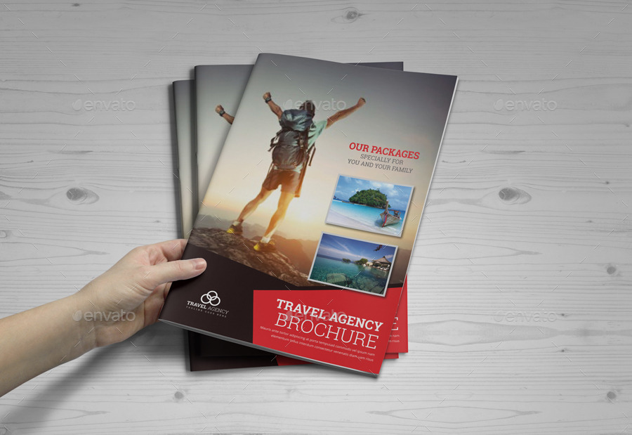 Travel Agency Brochure Catalog Indesign Template 2 By Janysultana