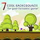 Game Backgrounds Set - GraphicRiver Item for Sale