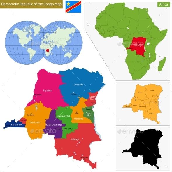 Democratic Republic of the Congo - Travel Conceptual