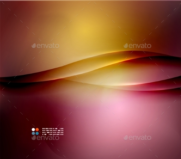 Orange and Purple Wave Background - Backgrounds Business