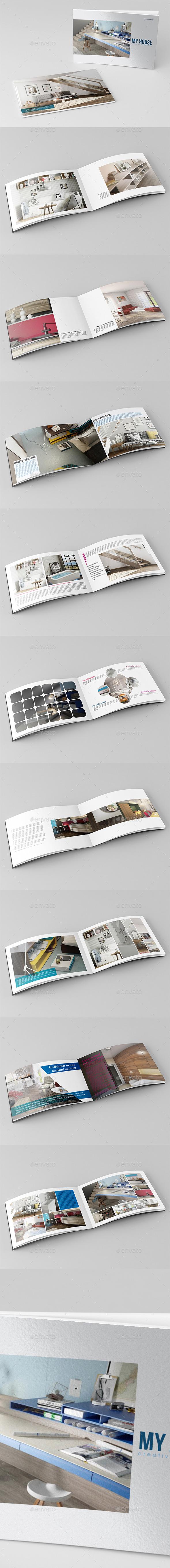 My House Catalog Template - Catalogs Brochures