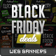 Black Friday / Promotional Web Banners - GraphicRiver Item for Sale