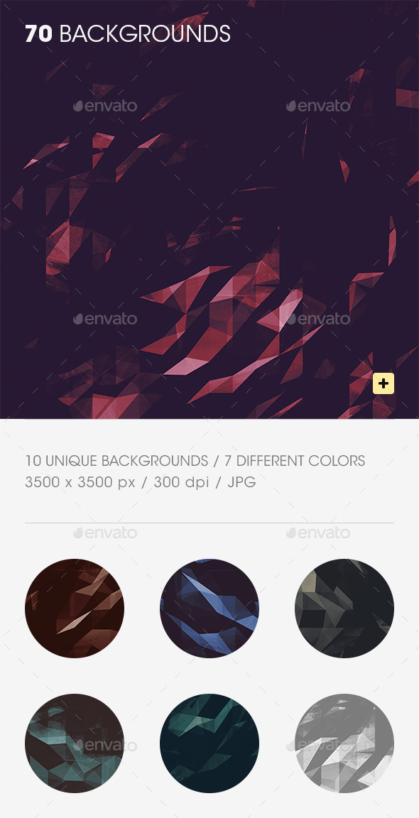Grunge Polygon Backgrounds - Backgrounds Graphics