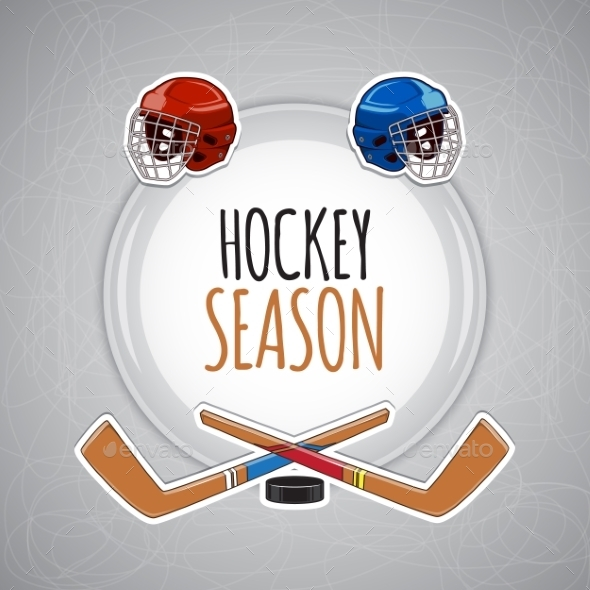 Winter Sports Background Hockey Season - Sports/Activity Conceptual