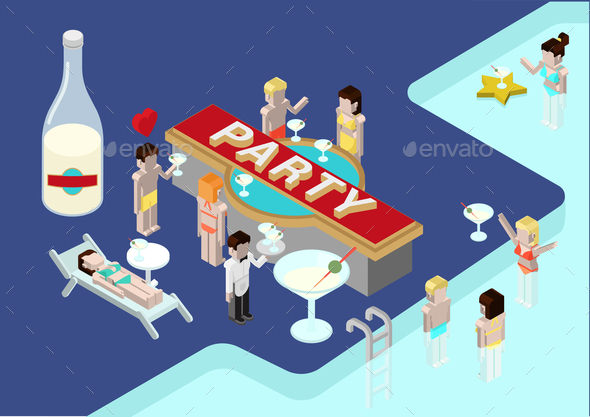 Party Concept - Web Technology