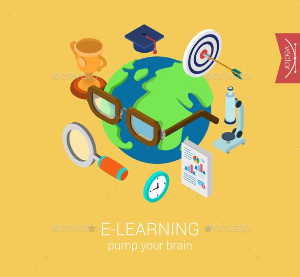 Education Concept - Web Technology