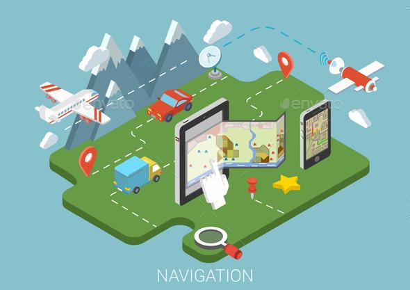 Navigation Concept - Communications Technology