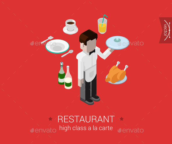 Restaurant Concept - People Characters