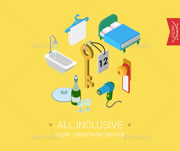 All Inclusive Concept - Man-made Objects Objects
