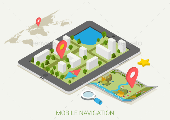 Mobile Navigation Concept - Communications Technology