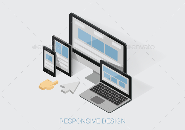 Responsive Design Concept - Web Technology