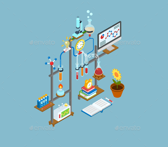 Scientific Lab Concept - Concepts Business