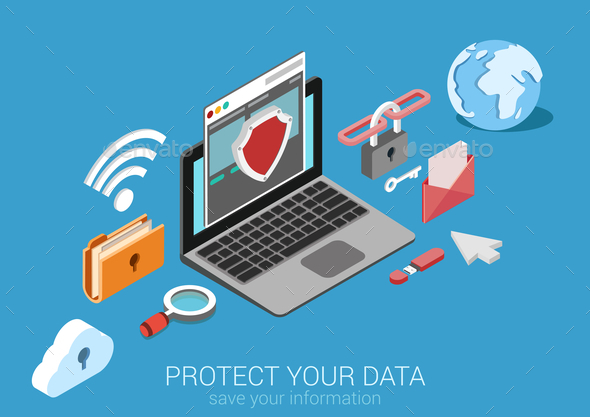 Data Protection Concept - Communications Technology