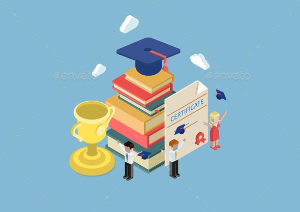Education Concept - Abstract Conceptual