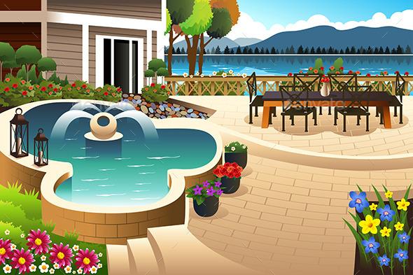 Backyard Garden - Nature Conceptual