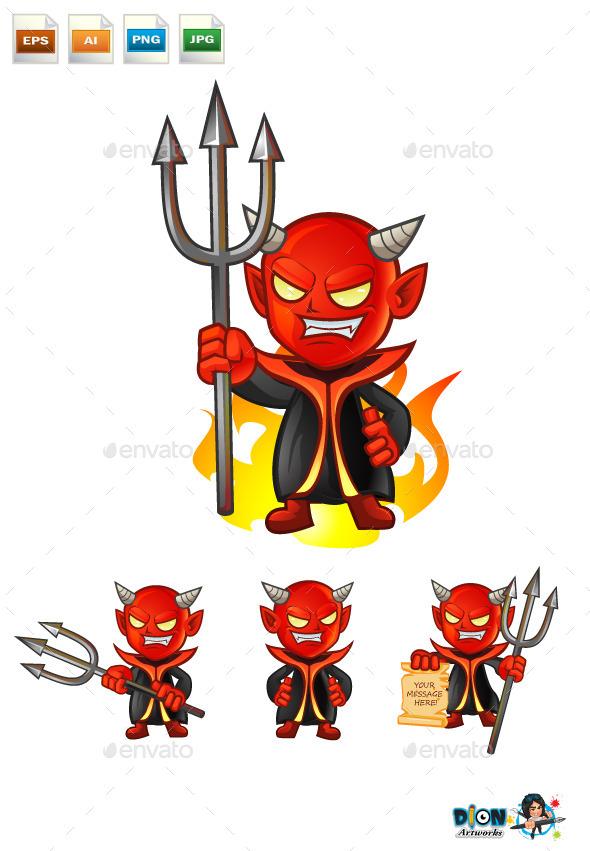 Devil - Characters Vectors
