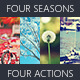 Four Seasons Photoshop Actions Pack - GraphicRiver Item for Sale