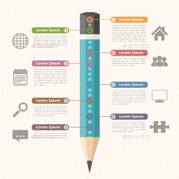 Education Infographics - Miscellaneous Vectors