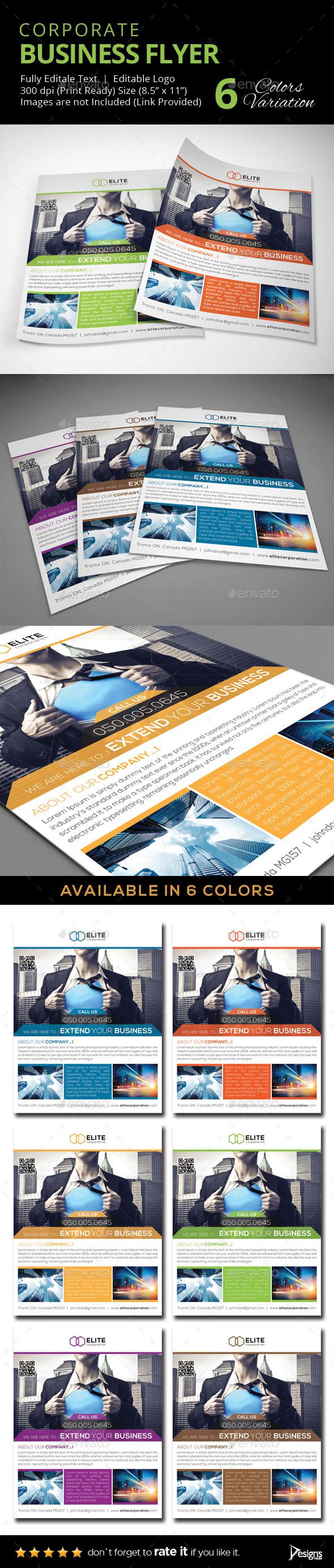 Flyer - Multipurpose Business Flyer 17 - Corporate Flyers
