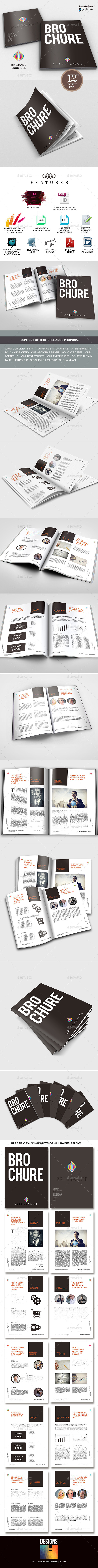 Brilliance Multipurpose Business Brochure  - Corporate Brochures