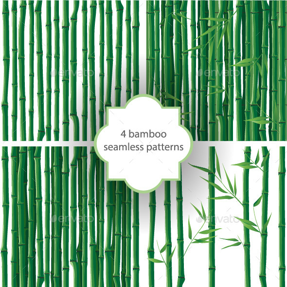 Bamboo Patterns - Flowers & Plants Nature