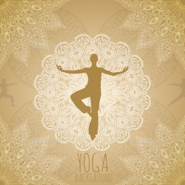 Yoga Background - Sports/Activity Conceptual