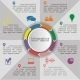 Circle Infographic Timeline Element Layout - GraphicRiver Item for Sale