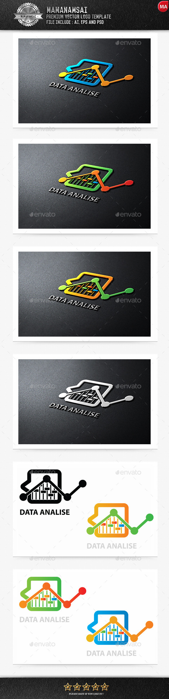 Data Analysis Logo - Logo Templates